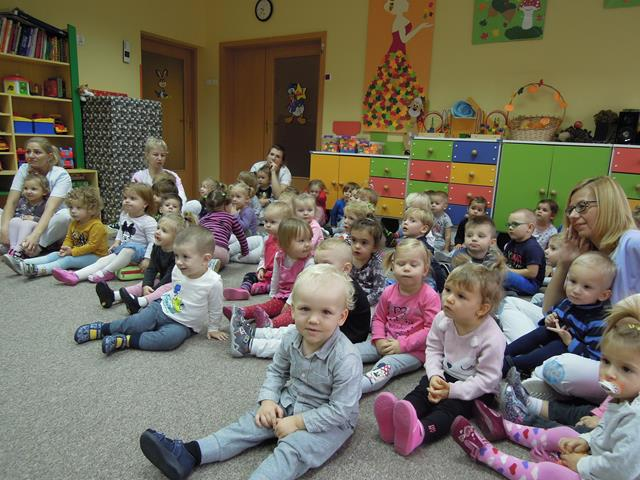 Wizyta Przedszkolaków Miejski Ośrodek Pomocy Społecznej W